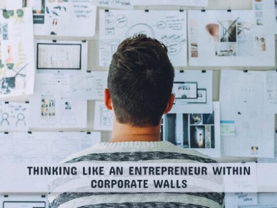 Think Like An Entrepreneur Within Corporate Walls - VTBurner